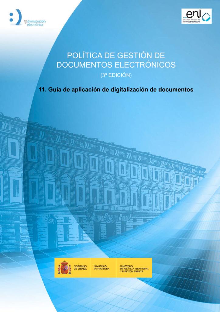 Guia De Aplicacion De Digitalizacion De Documentos Pdf