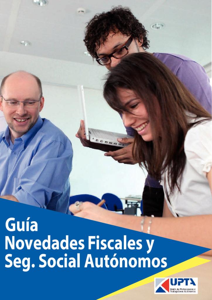 Guia Novedades Fiscales Y Seguridad Social Autonomos Pdf 724x1024